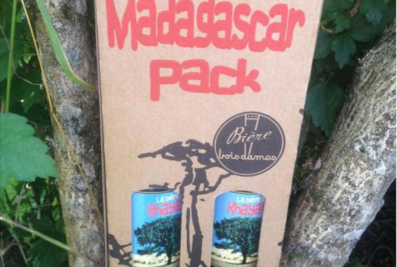Février 2016: EcoFormation s'associe avec la brasserie 3 Dames pour reboiser Madagascar !