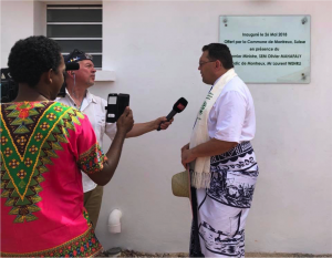 Mai 2018: Inaugurating the bush hospital !