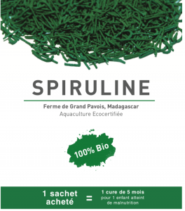 Février 2019: Distribution de spiruline à Madagascar