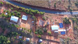 Septembre 2019: Hôpital de brousse toujours en développement